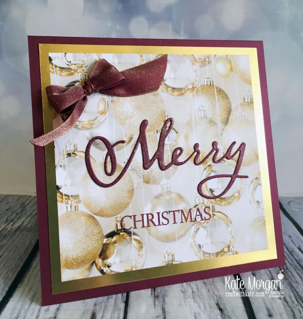 Merry Christmas to All Stampin Up Australia by Kate Morgan 2018.JPG
