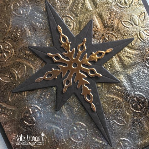 Star of Light using Stampin Ups Tin Tile TIEF by Kate Morgan Australia 2018