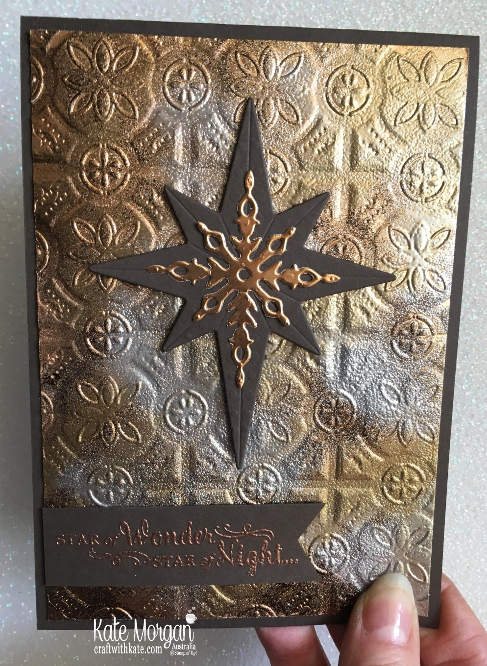 Star of Light with Stampin Ups Tin Tile TIEF by Kate Morgan Australia 2018.JPG