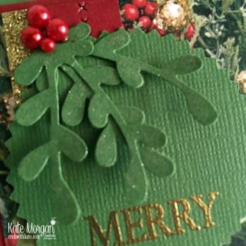 Colour Creations Blog Hop Garden Green All is Bright DSP Holiday Catalogue 2018 Stampin Up by Kate Morgan Australia.