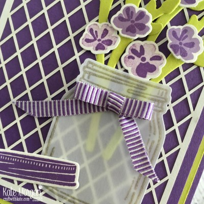 Colour Creations Blog Hop Gorgeous Grape Jar of Love Stampin Up by Kate Morgan Australia 2018