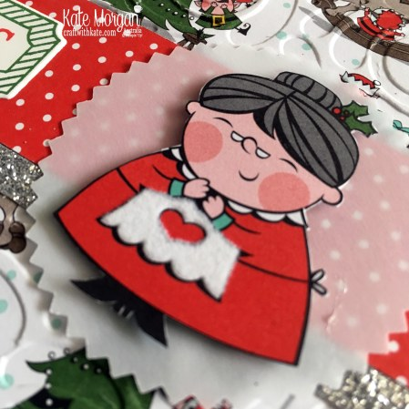 Heart of Christmas Blog Hop Santas Workshop DSP Holiday Catalogue 2018 Stampin Up by Kate Morgan Australia.