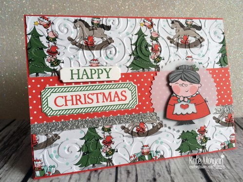 Heart of Christmas Blog Hop Santas Workshop DSP Holiday Catalogue 2018 Stampin Up by Kate Morgan Australia