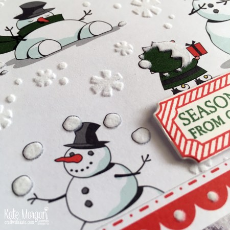 Heart of Christmas Blog Hop Santas Workshop SDSP Holiday Catalogue 2018 Stampin Up by Kate Morgan Australia.