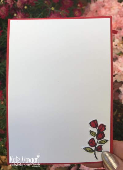 Petal Palette & Tin Tile TIEF Stampin Up by Kate Morgan, Australia 2018 inside
