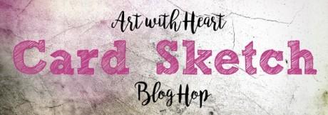 Blog Hop Card Sketch Nov 18