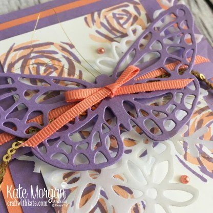 Colour Creations Blog Hop Highland Heather using Stampin Up Abstract Impressions by Kate Morgan, Australia 2018