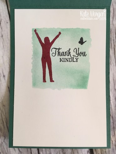 Enjoy Life 2018 Handmade Card using Stampin Up by Kate Morgan Australia.