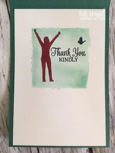 Enjoy Life 2018 Handmade Card using Stampin Up by Kate Morgan Australia.