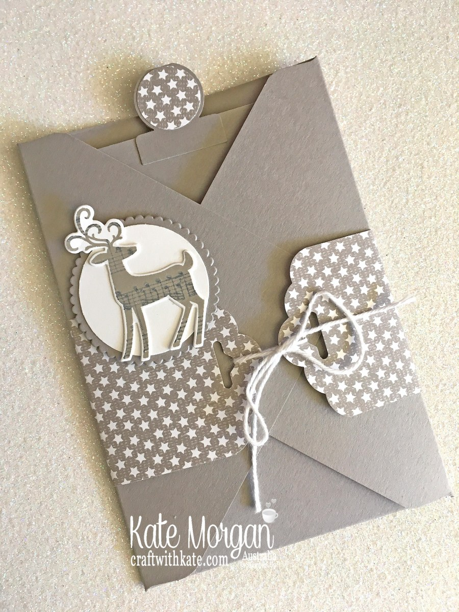 Pocket Gift Card for Christmas 2018 using Stampin Up Dashing Deer, Festive Farmhouse DSP by Kate Morgan, Australia.JPG