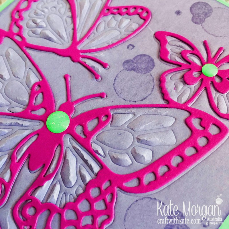 Beauty Abounds with Stampin Up Embossing Mats by Kate Morgan Australia 2019..JPG