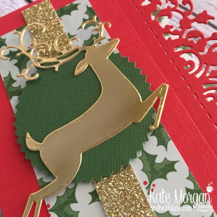 Dashing Deer in Holiday catalogue 2018 by Kate Morgan Stampin Up Australia