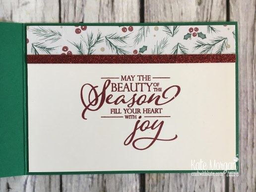 Joyous Noel DSP Stampin Up Christmas 2018 by Kate Morgan, Australia.
