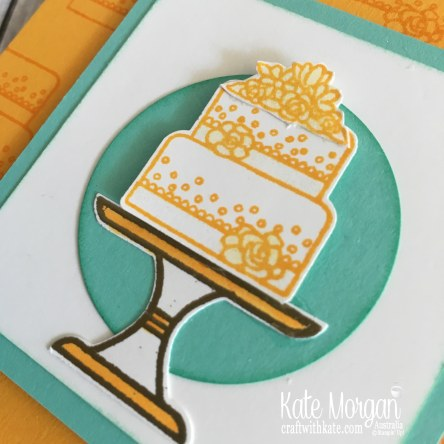 Piece of Cake Occasions catalogue Sneak Peek for Colour Creations Mango Melody by Kate Morgan Stampin Up Australia 2019