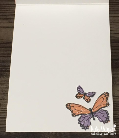 Butterfly Gala & Gingham Gala DSP Stampin Up Occasions Saleabration by Kate Morgan, Australia 2019 inside