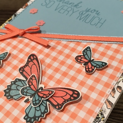 Butterfly Gala, Gingham Gala DSP Stampin Up Occasions Saleabration by Kate Morgan, Australia 2019