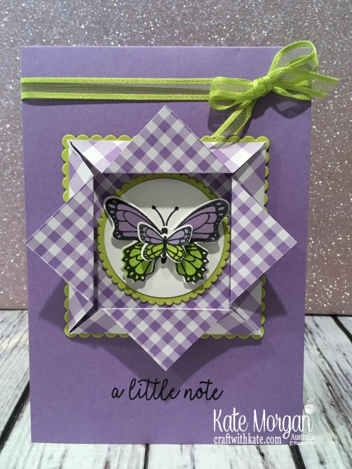 butterfly gala origami window card by kate morgan stampin up australia occasions 2019