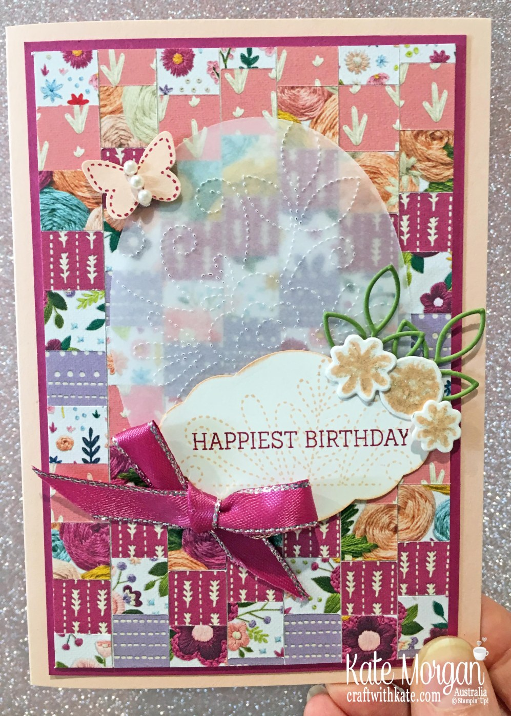 Needlepoint Nook Suite Stampin Up Bargello Technique by Kate Morgan Australia, Occasions 2019.JPG