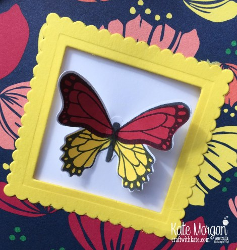 Window card using Stampin Up Butterfly Gala, Happiness Blooms Occasions 2019 by Kate Morgan Australia..JPG