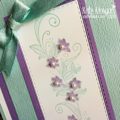 Beauty Abounds for Pool Party Colour Creations Blog Hop by Kate Morgan Stampin Up Australia.