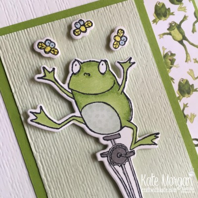 So Hoppy Together Frogs by Kate Morgan, Stampin Up Australia