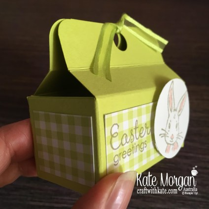 Easter Treat Box with Fable Friends Occasions 2019 by Kate Morgan Stampin Up, Australia