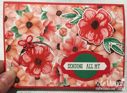 Heartfelt Thanks with Stampin Up Painted Seasons Bundle, Well Said, Well Written by Kate Morgan, Australia, Occasions 2019.JPG