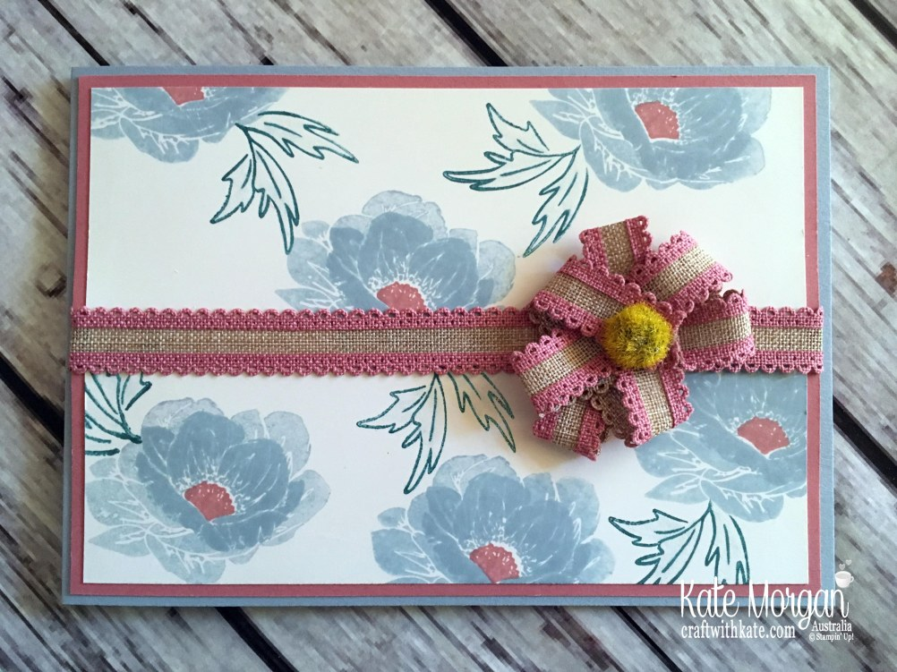 Floral Essence in Seaside Spray, Rococo Rose & Pretty Peacock by Kate Morgan Stampin Up Australia 2019.JPG