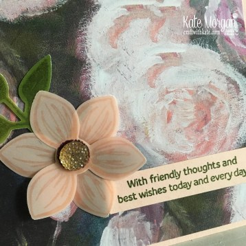 Floral Essence Perrenial Flower by Kate Morgan Stampin Up Australia...