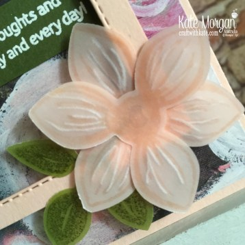 Floral Essence Perrenial Flower by Kate Morgan Stampin Up Australia.