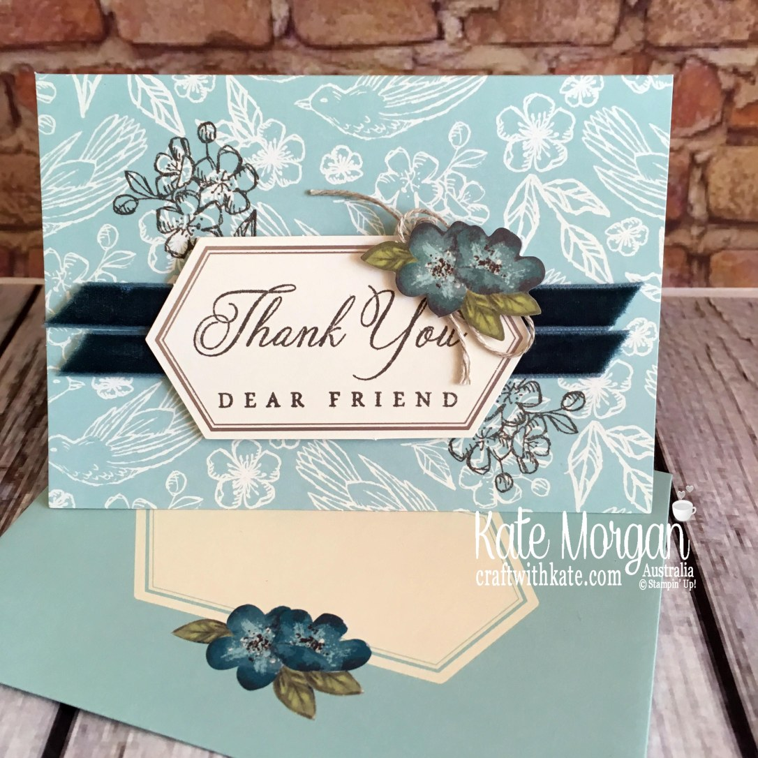 Paper Pumpkin Hugs from Shelli May 2019 by Kate Morgan Stampin Up Australia