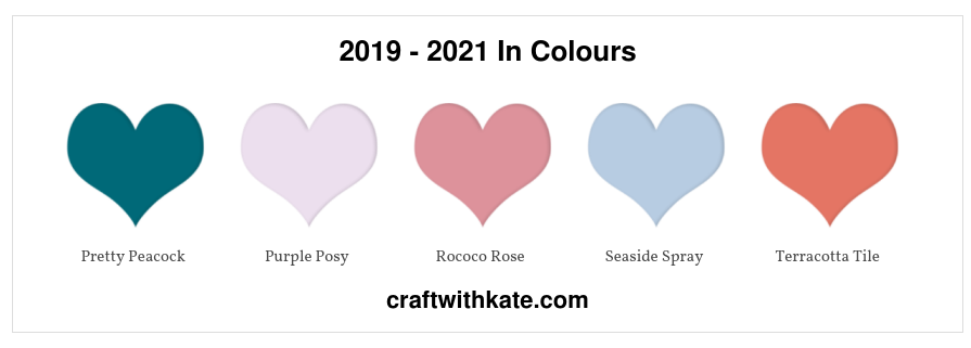 2019 - 2021 In Colours