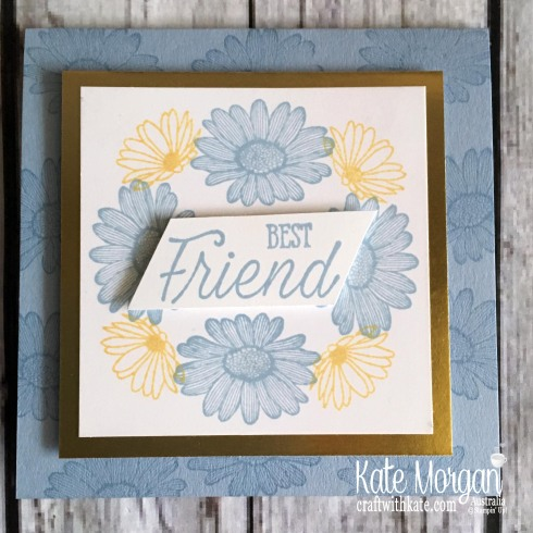 Daisy Lane in the Round Stampin Up by Kate Morgan Australia 2019