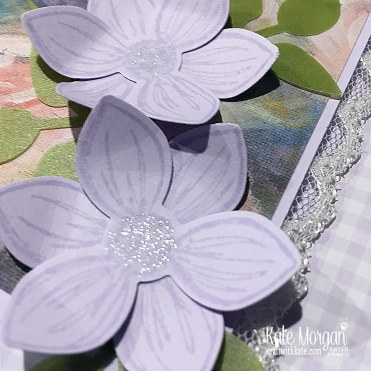 Floral Essence in Purple Posy handmade card, Stampin Up Australia by Kate Morgan