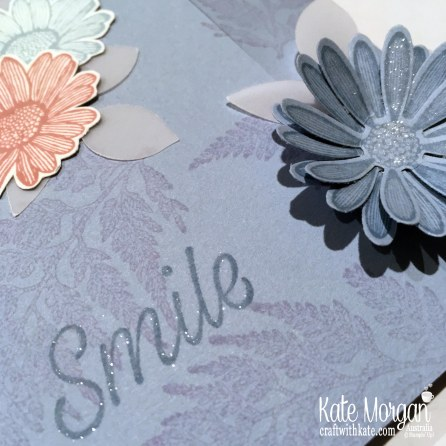 Easy Slider Card using Stampin Up Daisy Lane by Kate Morgan Australia 2019