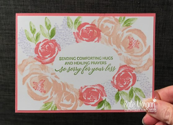 Simple Stamping using Stampin Up Beautiful Friendship & Kindness & Compassion by Kate Morgan, Australia 2019.