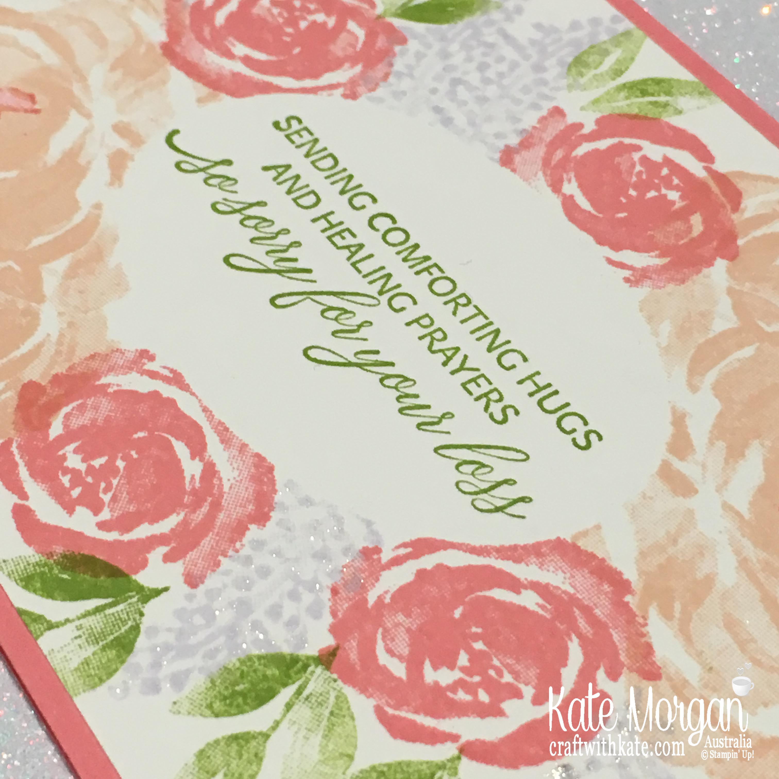 Simple Stamping using Stampin Up Beautiful Friendship & Kindness & Compassion by Kate Morgan, Australia 2019