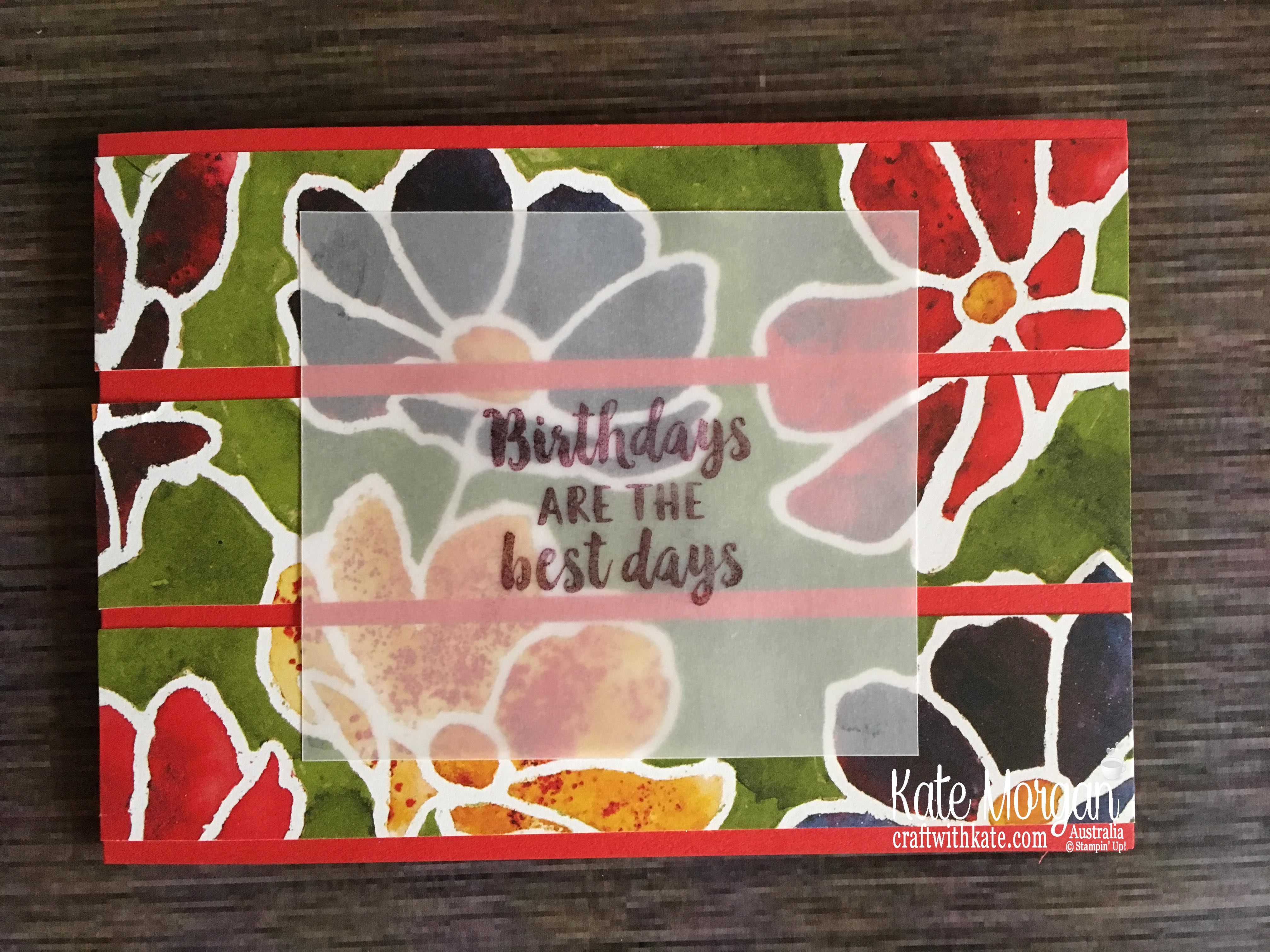Simple Stamping using Stampin Up Beautiful Friendship & See a Silhouette DSP by Kate Morgan, Australia 2019.JPG