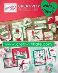 2019 Holiday catalogue image Craft with Kate