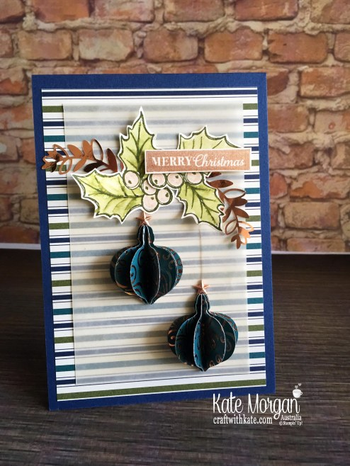 AWH Christmas Blog Hop 2019 using Stampin Up Brightly Gleaming Suite by Kate Morgan,Australia..JPG