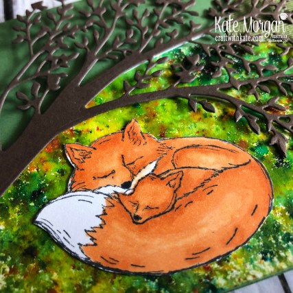 Wildly Happy Fox Stampin Up by Kate Morgan Australia 2019.