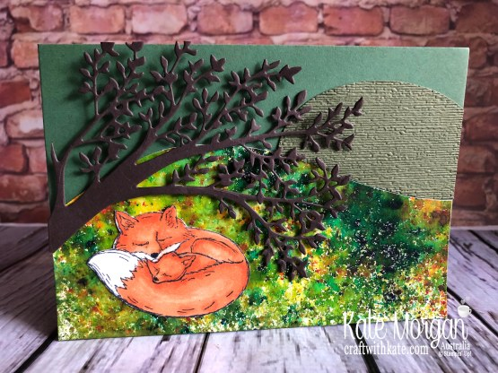 Wildly Happy Fox Stampin Up by Kate Morgan Australia 2019.JPG