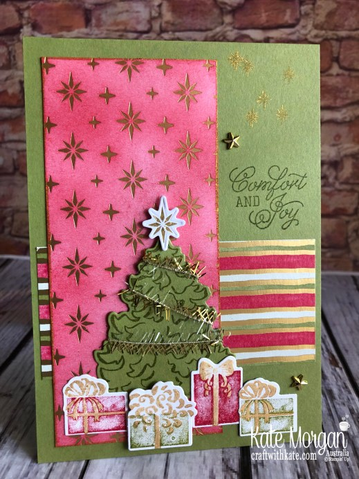 Most Wonderful Time Product Medley by Kate Morgan Stampin Up Australia 2019 Holiday catalogue