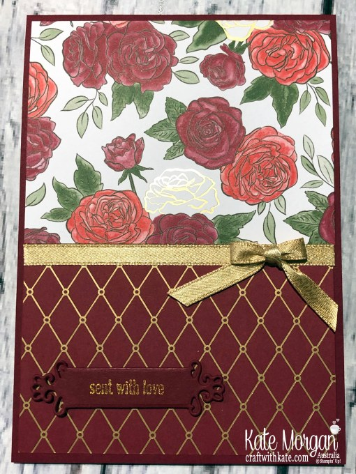 Birthday card using Christmastime is Here Suite, Stampin Up Holiday catalogue 2019 by Kate Morgan Australia..jpg