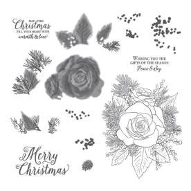 Christmas Roses stamp set Stampin Up order at Craft with Kate