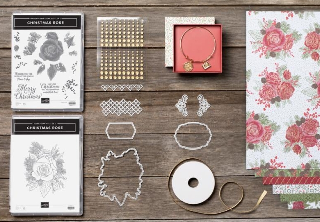 Christmas Roses Stampin Up order at Craft with Kate