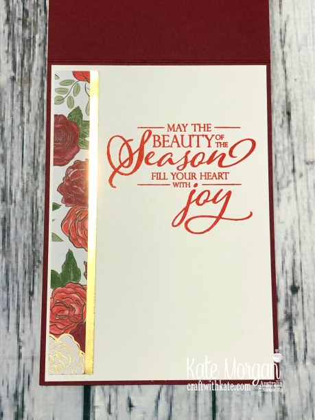 Christmastime is Here, Stampin Up Holiday catalogue 2019 by Kate Morgan Australia inside.jpg