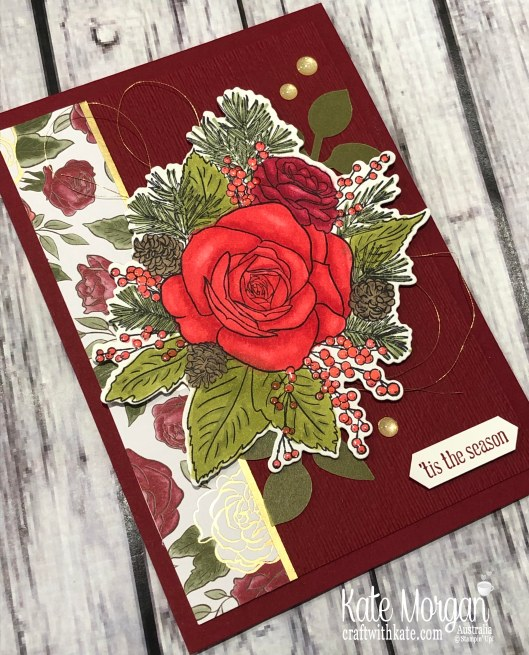 Christmastime is Here, Stampin Up Holiday catalogue 2019 by Kate Morgan Australia...jpg