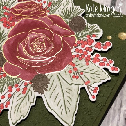 Christmastime is Here Suite, Stampin Up Holiday catalogue 2019 by Kate Morgan Australia..