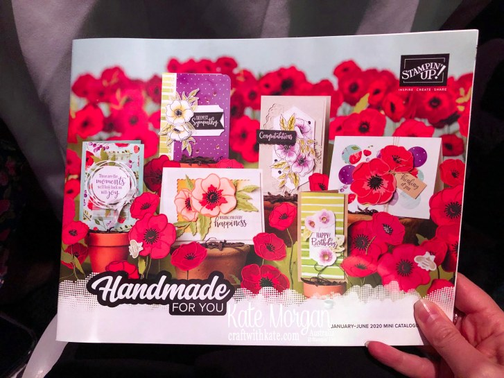 Stampin Up Mini Catalogue 2020